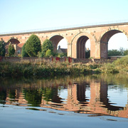 The Yarm viaduct in North Yorkshire