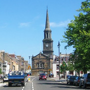 Haddington in East Lothian