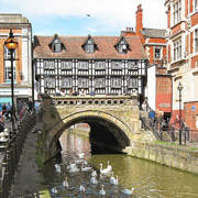 High Bridge in Lincoln, Lincolnshire