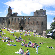 Linlithgow Palace in West Lothian