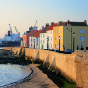 Town Wall in Hartlepool
