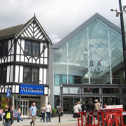 Grand Arcade Shopping Centre in Wigan