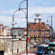 Stockton on Tees town centre