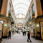 The Exchange Arcade inside Nottingham's Council House