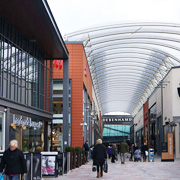 The Trinity Walk Shopping Centre in Wakefield